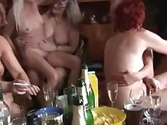 Matured and Young Shacking up Each Other in a Swinger Party